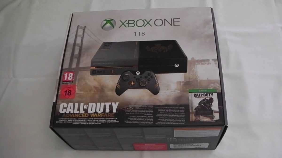 Video: Unboxing Xbox One Call of Duty: Advanced Warfare ...